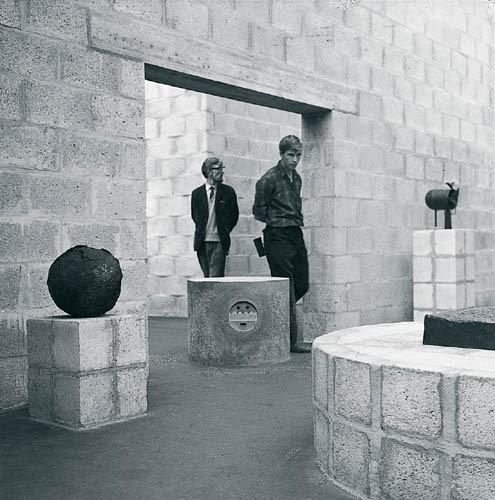 Aldo van Eyck Sonsbeek Pavilion in Arnhem 1966